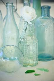 coastal vintage bottles for beachy nautical decor vintage