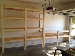 Building Wood Shelves For Storage by Best 25 Garage Shelving Ideas On Pinterest Building Garage