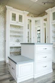 Space Saving Closet Ideas With A Dressing Table 180 Best Walk In Closet Organizers Images On Pinterest Custom