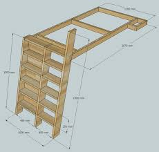 Plans For Bunk Bed With Steps by Loft Beds With Bookshelf Ladders 14 Steps With Pictures