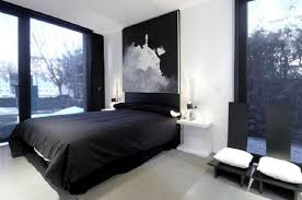 bedroom awesome modern mens bedroom with black color scheme also
