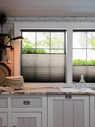 Decorating Ideas For Kitchen 10 Stylish Kitchen Window Treatment Ideas Hgtv