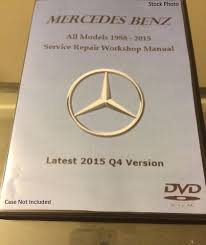 mercedes benz all models 1986 2017 service repair workshop manual