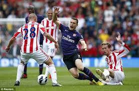 Hasil Pertandingan Stoke City vs Arsenal Liga Inggris 2012-2013