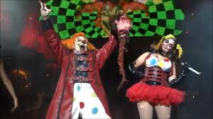 front row hhn25 halloween horror nights jack the clown the
