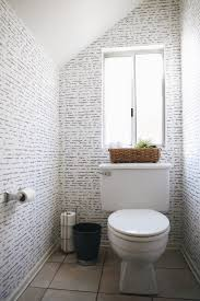 Small Powder Room Wallpaper Ideas Go Bold In Small Spaces With Removable Wallpaper
