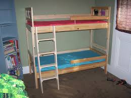 Diy Bunk Bed With Slide by Kids Beds Ikea Childrens Bunk Bed Instructions Youtube
