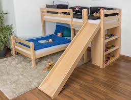bunk beds loft bed with slide walmart ikea loft bed with slide