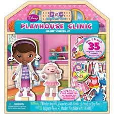 Doc Mcstuffins Home Decor Doc Mcstuffins Wooden Magnetic Playhouse Walmart Com