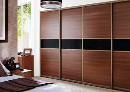 Home Decor Sliding Wardrobe Doors Stylish Sliding Closet Doors With Mirror Bringing Charms In