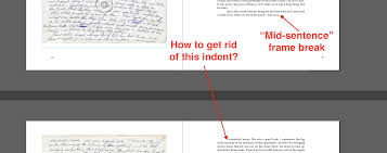 paragraph styles in indesign how to get rid of the first line