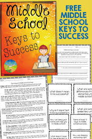 ideas about Middle School Homework on Pinterest   Seventh     Pinterest FREE Middle School keys to success     worksheets and   task cards aimed at teaching middle school kids keys to success   doing your homework