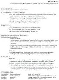 Resume Sample Gov   Resume and Cover Letter Writing and Templates  The Ladders     Chronological Resume Sample Government Affairs Director Government Resume Template Government Resume Templates Free