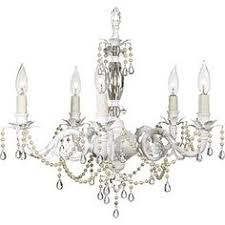 White Shabby Chic Chandelier by Chandelier At Night With A Bright Blue Sky Lighting Pinterest