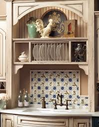 Kitchen Plate Rack Cabinet by Kitchen Cabinets That Are Bothtown U0026 Country Plain U0026 Fancy Cabinetry