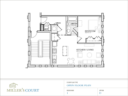 Two Bedroom Apartment Floor Plans One Bedroom Apartment Open Floor Plans And Two Bedroom Our Two