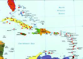 Thousand Islands Map Island Caribbean Islands Map