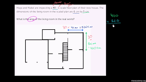 interpreting a scale drawing video khan academy