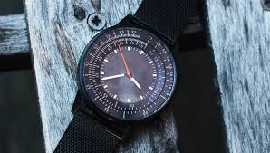the caliper slide rule watch will help you multiply and divide in