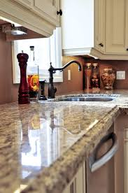 Painted Kitchen Floor Ideas Granite Countertop Painted Kitchen Cabinets With White