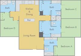 Simple 4 Bedroom Floor Plans Indian Home Design Plans With Photos House Free Bedroom Bathroom