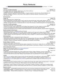 Resume That Gets The Job by This Resume Got Me Internship Offers From Google Nsa U0026 More