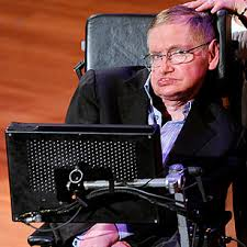 Image of Stephen Hawking in wheelchair