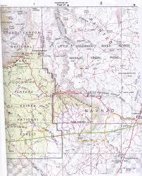 Map Az Little Colorado River Gorge U2013 Navajo Parks U0026 Recreation