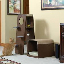 stylish cat tower modern cat tree alternatives for up to date