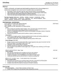 Sample Of Sales Manager Resume by 10 Sales Resume Samples Hiring Managers Will Notice