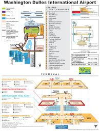 Washington Dc Usa Map by Washington Dulles International Airport Map