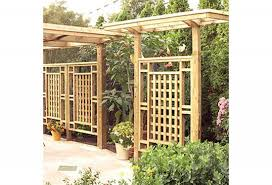 free planter box and trellis woodworking plan