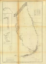 Large Map Of Florida by Florida Memory Survey Map Of East Coast Of Florida 1860