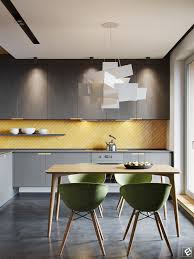 Yellow Interior by Modern Interior With Plywood Decor Elements House U2022 Modern