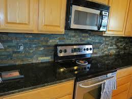 kitchen kitchen backsplash ideas black granite countertops tv