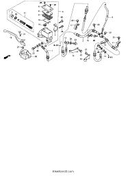 2004 honda fourtrax recon 250 es trx250te front brake master