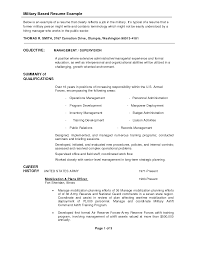 Sample Resume Objectives For Job Fair by Security Forces Resume Resume Cv Cover Letter Air Force Executive