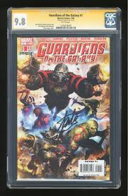 guardians of the galaxy comic books graded by cgc