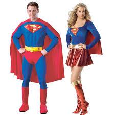 Supergirl Halloween Costume Superman U0026 Supergirl Couples Costumes