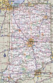 Map Of Cities In Usa by Large Detailed Roads And Highways Map Of Indiana State With Cities