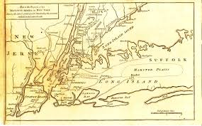 Map Of The New England Colonies by The Hauss Family Of The Mohawk Revolutionary War