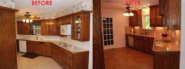 small kitchen before and after remodeled