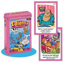 amazon com idioms fun deck cards super duper educational