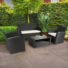Best Wicker Patio Furniture Amazon Com Best Choice Products 4pc Outdoor Patio Garden