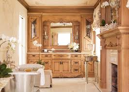 award winning master bath for her features the feminine charm of