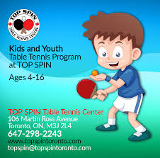 Topspin Table Tennis by Top Spin Table Tennis Center