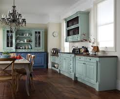 Kitchen Interiors Ideas Vintage Country Kitchen Decor With Classic Chandelier And