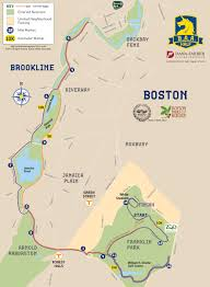 Map Of Boston Neighborhoods by Course Map