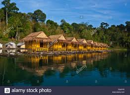 floating bungalows khao sok national stock photos u0026 floating