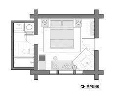 1 Bedroom Log Cabin Floor Plans by Cabins At Big Sky Montana Lone Mountain Ranchlone Mountain Ranch